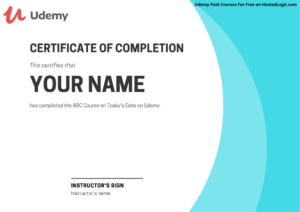 Udemy Paid Course For Free